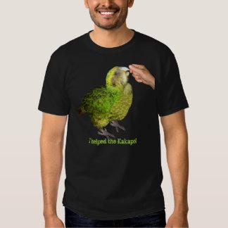 I helped the Kakapo! Tshirts