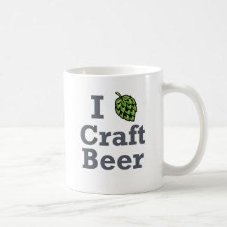 I [hop] Craft Beer Basic White Mug