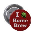 I [hop] Home Brew Buttons