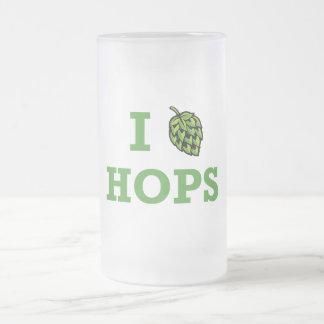 I [hop] Hops Beer Mug