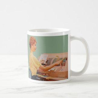 I hope I was hired because I'm pretty... Basic White Mug
