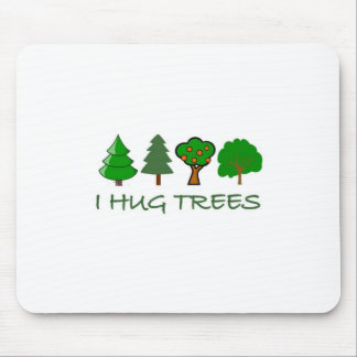 I Hug Trees Mouse Mat