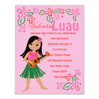 I Hula-Love You u\Ukulele Card