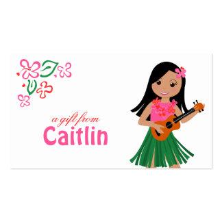 I Hula-Love You ukulele! Business Card Template