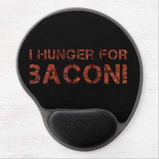 I Hunger For Bacon Gel Mousepads