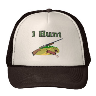 I Hunt Mesh Hats