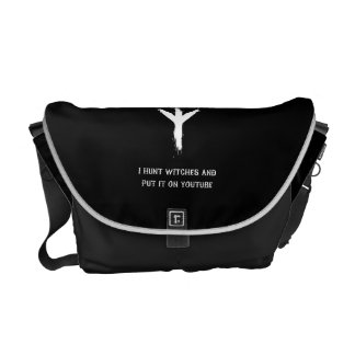 """I Hunt Witches"" Commuter Bags"