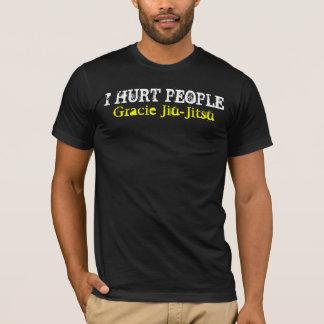 I HURT PEOPLE, Gracie Jiu-Jitsu T-Shirt
