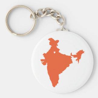 I ♥ India Key Ring