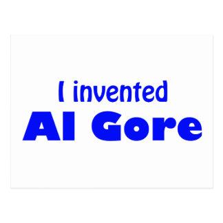 I invented Al Gore Postcard