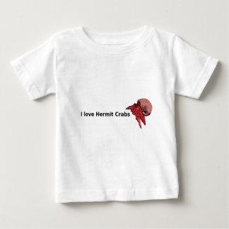 I Iove Hermit Crabs Tshirt with baby viola design
