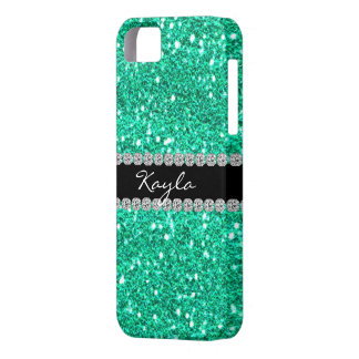 i IPHONE  5 Case CRYSTAL TEAL