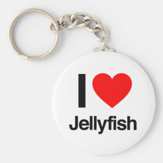 i jellyfish key ring