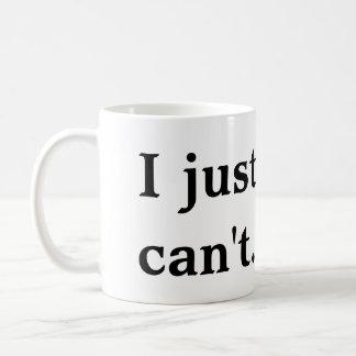 I Just Can't Mug