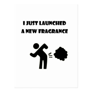 I just launched a new fragrance postcard