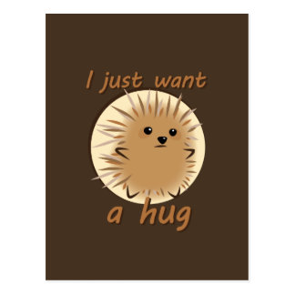 I Just Want A Hug Postcard