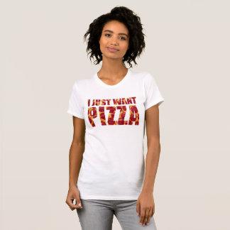 I Just Want Pizza T-Shirt Tumblr