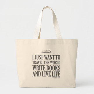 I Just Want To... Jumbo Tote Bag