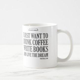 I Just Want To... Classic White Coffee Mug