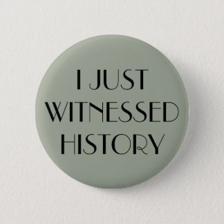 I just witnessed history wedding birth event pin