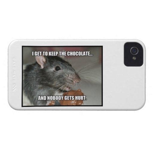 I Keep Chocolate Nobody Gets Hurt Blackberry Bold Cover
