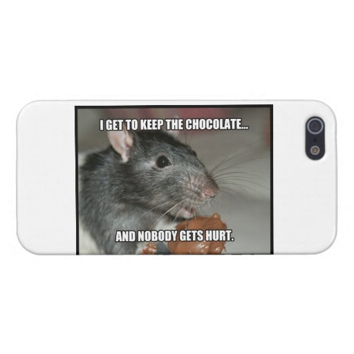 I Keep Chocolate Nobody Gets Hurt Cases For iPhone 5