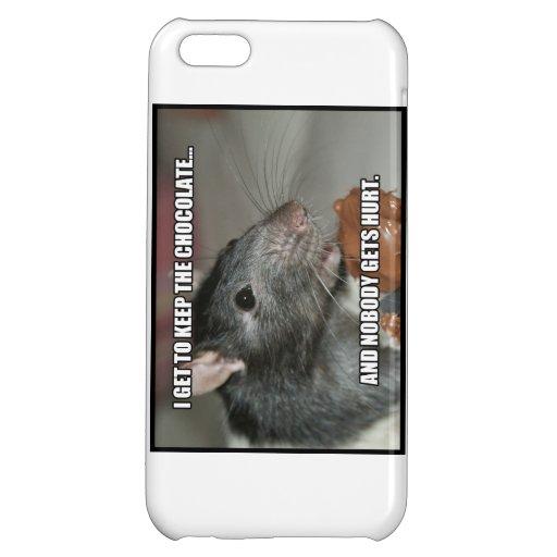 I Keep Chocolate Nobody Gets Hurt iPhone 5C Cover