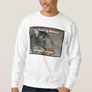 I Keep Chocolate Nobody Gets Hurt Sweatshirt