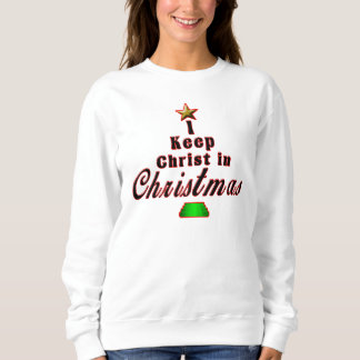 I keep Christ in Christmas Unique Holiday Sweater