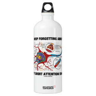I Keep Forgetting About My Short Attention Span SIGG Traveller 1.0L Water Bottle