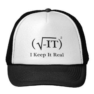 I Keep It Real Cap