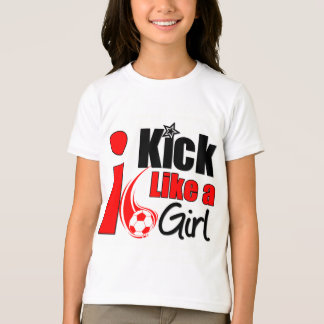 I Kick Like A Girl T-Shirt