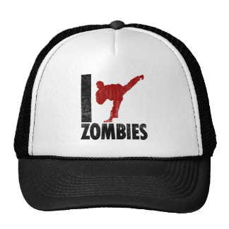 I Kick Zombies Cap