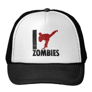 I Kick Zombies Cap