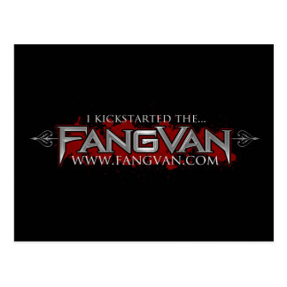 I Kickstarted the FangVan Official Post Cards