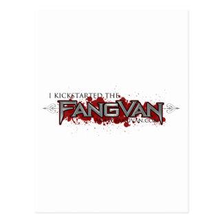 I Kickstarted the FangVan Official Postcards