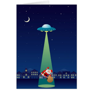 I Kidnapped Santa For You Greeting Card (Portrait)