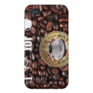 I Kill for Coffee iPhone 4 Case