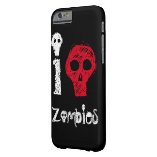 I Kill Zombies Barely There iPhone 6 Case