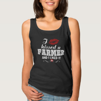 I kissed a FARMER Tank Top