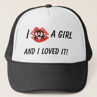 I Kissed a girl, black Hat