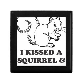 I kissed a squirrel gift box