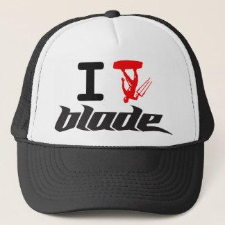 i kite blade trucker hat
