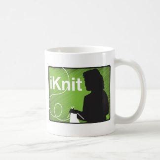 I Knit Coffee Mug