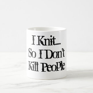 I Knit... Coffee Mug