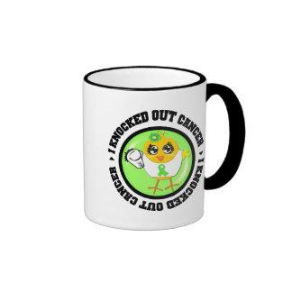 I Knocked Out Cancer (Lymphoma) Mugs
