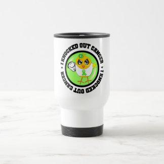 I Knocked Out Cancer (Lymphoma) Coffee Mugs