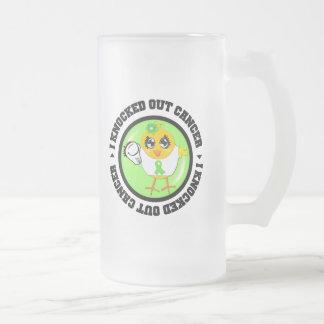 I Knocked Out Cancer (Lymphoma) Coffee Mug