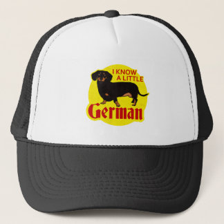 I Know A Little German Trucker Hat