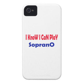 I know i can play Soprano. iPhone 4 Cases
